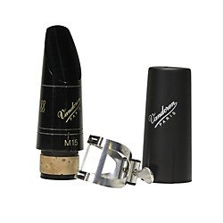 Vandoren M15 Profile 88 Bb Clarinet Mouthpiece package with M/O Pewter Ligature and Plastic Cap (MF3178PK)