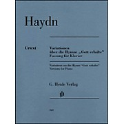 "G. Henle Verlag Variations on the Hymn ""Gott erhalte"" for Piano By Haydn"