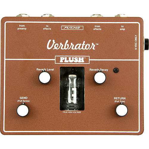 Plush Verbrator Loop and Reverb Guitar Effects Pedal-thumbnail