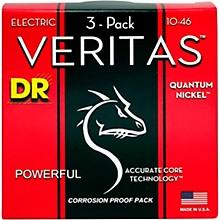 DR Strings Veritas - Accurate Core Technology Medium Electric Guitar Strings (10-46) 3-PACK