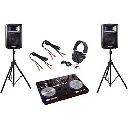 Vestax Typhoon / Harbinger APS12 DJ Package (TyphoonAPS12)