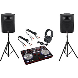 Vestax Typhoon / Harbinger APS15 DJ Package (TyphoonAPS15)