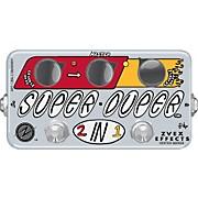 ZVex Vexter Series VSD Super Duper 2-in-1 Boost Guitar Effects Pedal
