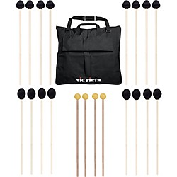 Vic Firth Keyboard Mallet 10-Pack w/ Free Mallet Bag (M-10P-4M1884M183-A)