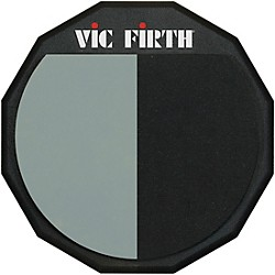Vic Firth Single-Sided/Divided Practice Pad (PAD12H)