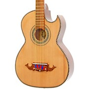 Paracho Elite Guitars Victoria-P 12 String Acoustic-Electric Bajo Sexto