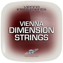 Vienna Instruments Dimension Strings Extended Library (VSLV25E)