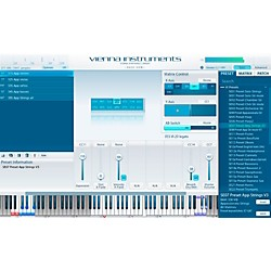 Vienna Instruments Special Edition Vol. 1 Strings PLUS Software Download (VSLV44L)