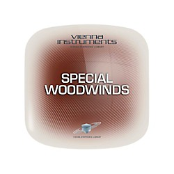 Vienna Instruments Special Woodwinds Extended Software Download (VSLV12E)