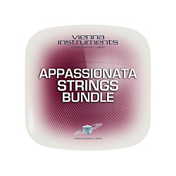 Vienna Instruments Vienna Appassionata Strings Bundle Standard Software Download (VSLVASB)