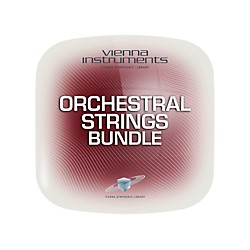 Vienna Instruments Vienna Orchestral Strings Bundle Full Library (Standard + Extended) Software Download (VSLVOSBF)