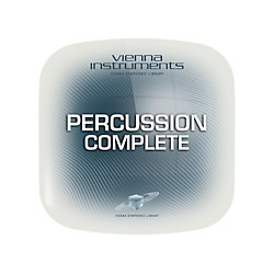 Vienna Instruments Vienna Percussion Complete Extended (requires standard) Software Download (VSLVPPE)