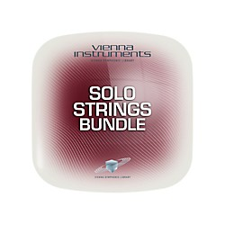 Vienna Instruments Vienna Solo Strings Bundle Full Library (Standard + Extended) Software Download (VSLVSSBF)