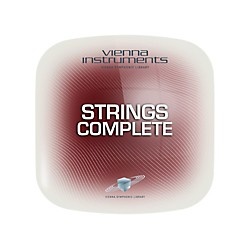 Vienna Instruments Vienna Strings Complete Extended (requires standard) Software Download (VSLVSPE)