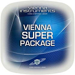 Vienna Instruments Vienna Super Package Full Library (Standard + Extended) Software Download (VSLVSUPF)