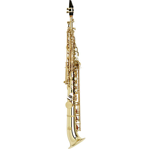 Allora Vienna Series Intermediate Semi-Curved Soprano Saxophone AASS-501 - Lacquer 190839001429 Scratch and Dent-thumbnail