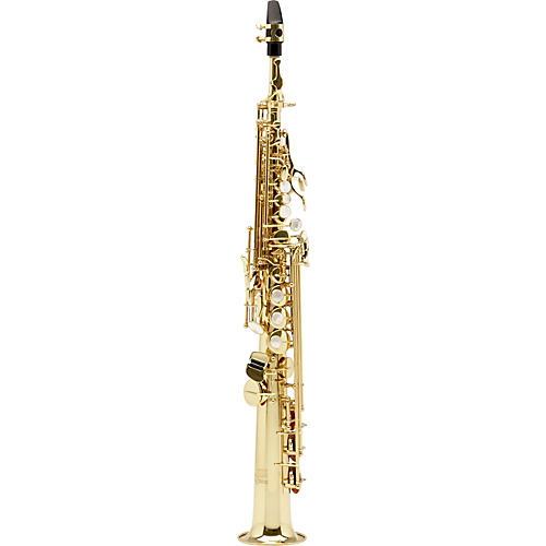 Allora Vienna Series Intermediate Straight Soprano Saxophone with Two Necks-thumbnail