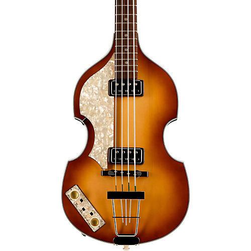 Hofner Vintage '62 Violin Left-Handed Electric Bass Guitar-thumbnail