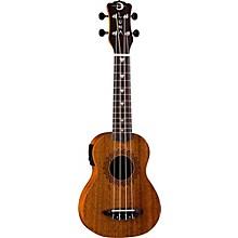 Luna Guitars Vintage Mahogany Soprano Acoustic-Electric Ukulele
