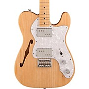 Squier Vintage Modified 72 Telecaster Thinline Maple Neck Electric Guitar