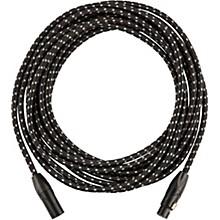 Fender Vintage Voltage Microphone Cable - Black Tweed