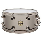 Ddrum Vintone Nickel Over Brass Snare Drum