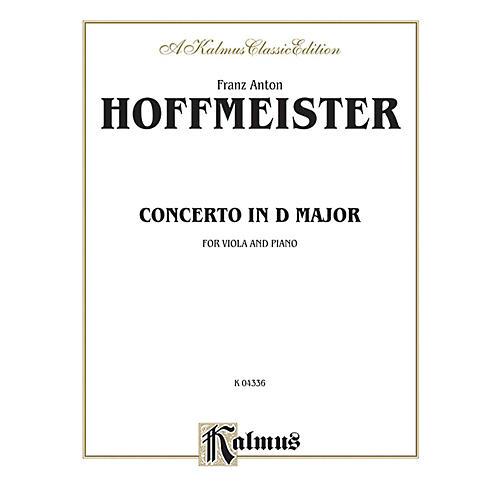 Alfred Viola Concerto in D Major for Viola Viola Concerto in D Major Book-thumbnail