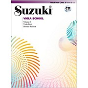 Suzuki Viola School Book & CD Volume 3 (Revised)