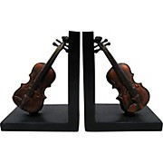 AIM Violin Bookends