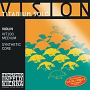 Thomastik Vision Titanium Solo Violin Strings
