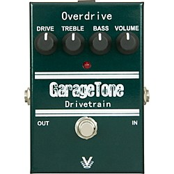 Visual Sound GarageTone Series Drivetrain Overdrive Guitar Effects Pedal (GTDRIVE)