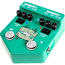 Visual Sound V2 Series V2DT Double Trouble Dual Overdrive Guitar Effects Pedal (V2DT)