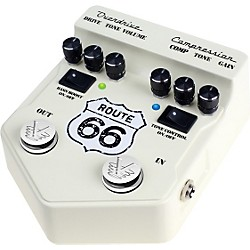 Visual Sound V2 Series V2RT66 Route 66 Overdrive and Compression Guitar Multi Effects Pedal (V2RT66)