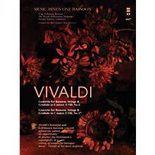 Music Minus One Vivaldi - Concertos for Bassoon, Strings & Cembalo No. 6 and No. 7 Music Minus One Softcover with CD