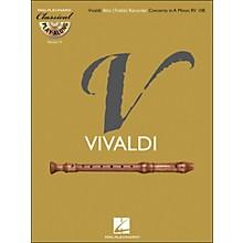 Hal Leonard Vivaldi: Alto (Treble) Recorder Concerto In A Minor Rv 108Class Play-Along Vol.13 Book/CD