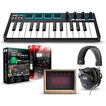 Alesis Vmini Portable 25-Key USB-MIDI Keyboard Controller Packages