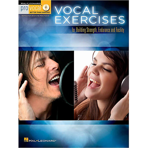 Hal Leonard Vocal Exercises for Building Strength, Endurance and Facility - Pro Vocal Series Book/CD-thumbnail