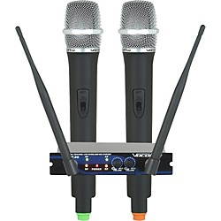 VocoPro UHF-28 Dual Channel Wireless System (UHF-28-7)