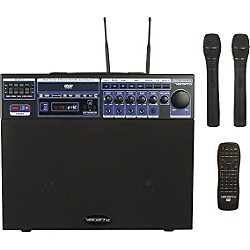 Vocopro DVD-Soundman Portable 4-Channel System with 2 Wireless Mics (DVD-SOUNDMAN)