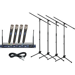 Vocopro UHF-5800 Handheld Wireless Package (Channel 3) (UHF5800PackCh3)