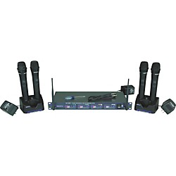 Vocopro UHF-5805 Plus Rechargeable Wireless System with Mic Bag (USED004000 UHF-5805-3 PLU)