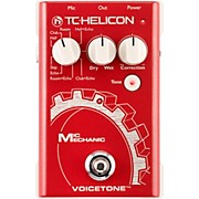 TC Helicon VoiceTone Mic Mechanic Reverb, Delay, & Pitch Correction Pedal