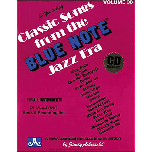 Jamey Aebersold Volume 38 - Blue Note - Play-Along Book and CD Set-thumbnail