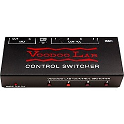 Voodoo Lab Control Switcher Guitar Footswitch (CX)