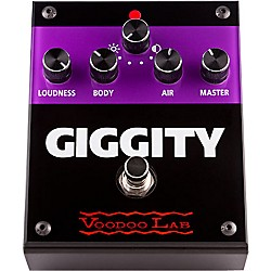 Voodoo Lab Giggity Overdrive Guitar Effects Pedal (VG)