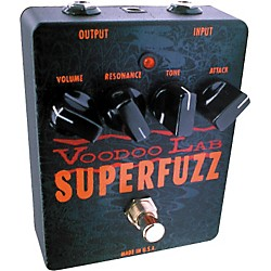 Voodoo Lab Superfuzz Pedal (SUPERFUZZ)