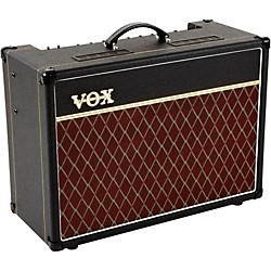 Vox AC15 15W 1x12 Tube Guitar Combo Amp with Celestion Alnico Blue Speaker (AC15C1X)