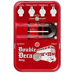 Vox Tone Garage Double Deca Delay Pedal (TG2DDDL)