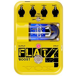 Vox Tone Garage Flat 4 Boost Guitar Effects Pedal (TG1FL4BT)