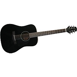 Voyage-Air Guitar Songwriter VAMD-04 Travel Acoustic Guitar (VAMD-04BK)